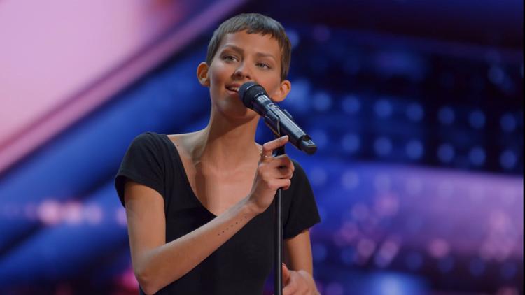 Watch: Zanesville singer known as Nightbirde gets Golden Buzzer in emotional 'America's Got Talent' audition