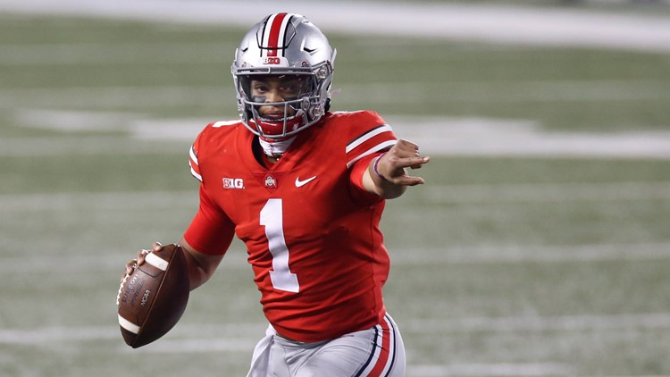 Ohio State QB Justin Fields wins 2020 Silver Football as Big Ten's best player