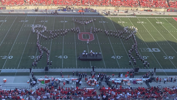 'The Roaring '20s': Watch Ohio State Marching Band's jazzed-up halftime show