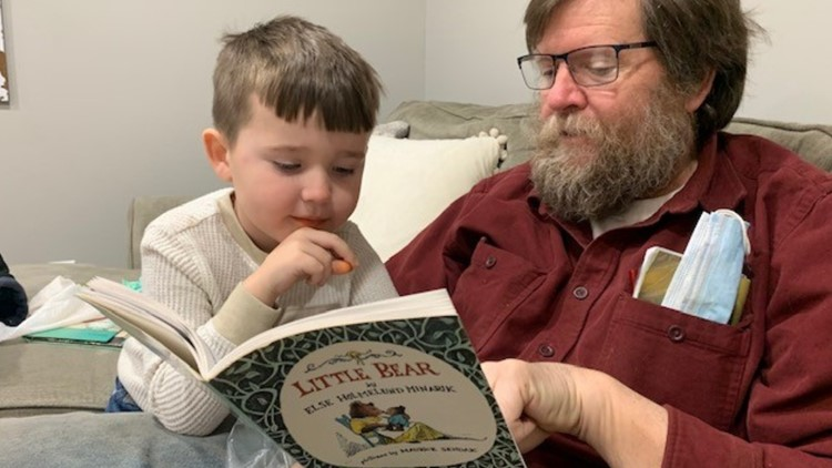 Former teacher revisits role for four-year-old grandson during pandemic