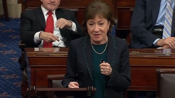 Sen. Collins speaks out against 'partisan delay tactics' she feels are blocking emergency coronavirus economic package