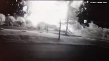 'The main thing is no one was injured.' See the moment an explosion obliterated the KFC in Eden