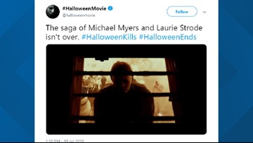 The saga of Michael Myers and Laurie Strode isn't over. Two Halloween movies coming