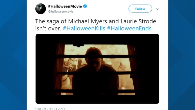 Two Halloween movies coming! The saga of Michael Myers and Laurie Strode isn't over.