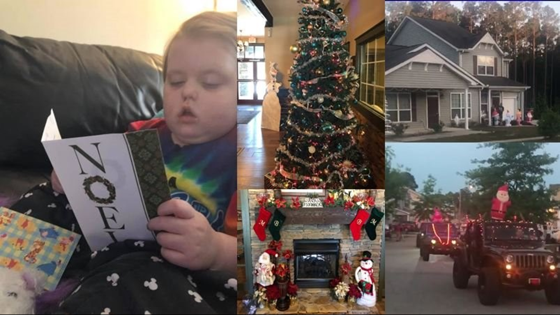 It's Christmas in May for 5-year-old Fort Bragg girl with terminal brain cancer