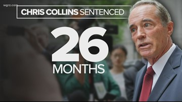 Former Congressman Chris Collins sentenced to 26 months in prison