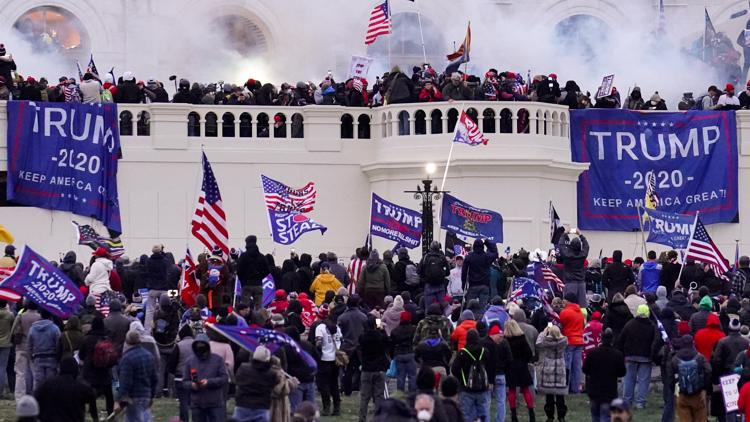 2 more Michigan men charged in Jan. 6 riot at US Capitol