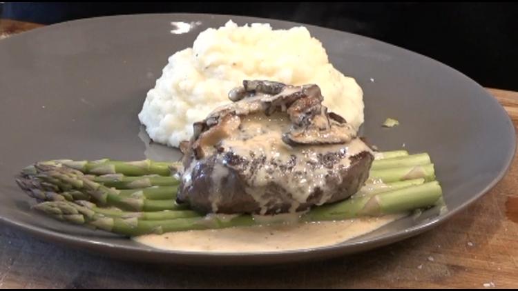 Make a fancy Valentine's dinner at home