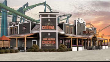 Cedar Point shows off first look at new Corral restaurant as 150th season approaches