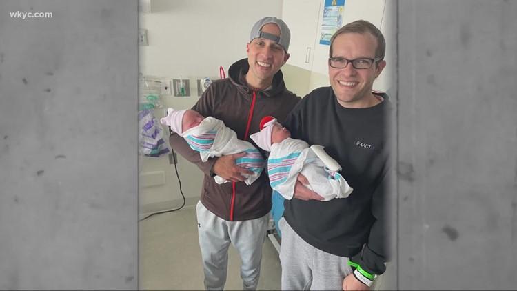 Northeast Ohio cousins born on same day have babies born on same day