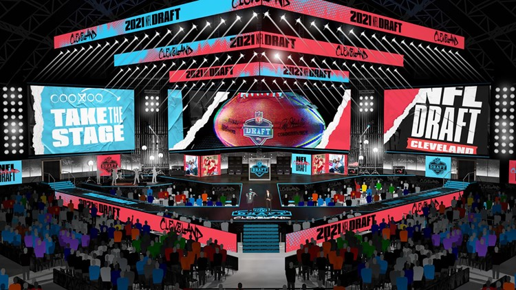 NFL announces plans for 2021 NFL Draft in Cleveland; will host players and fans