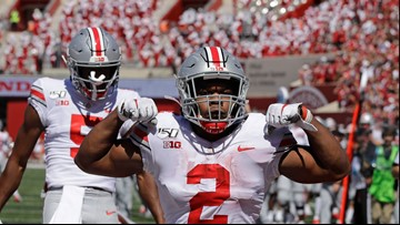 Ohio State ranked No. 1 in this year's 1st College Football Playoff rankings