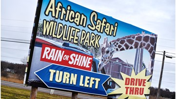 African Safari Wildlife Park will not reopen Saturday after state's updated 'Stay Safe Ohio' order