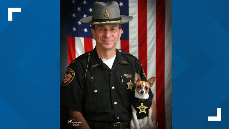 Funeral arrangements announced for beloved former Geauga County Sheriff and tiny K-9 partner, Midge