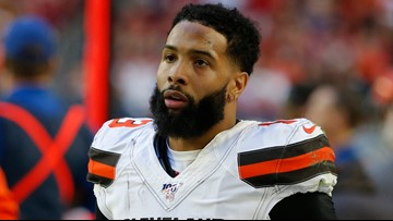 Report: Officer won't press charges against Cleveland Browns WR Odell Beckham Jr. for butt slap