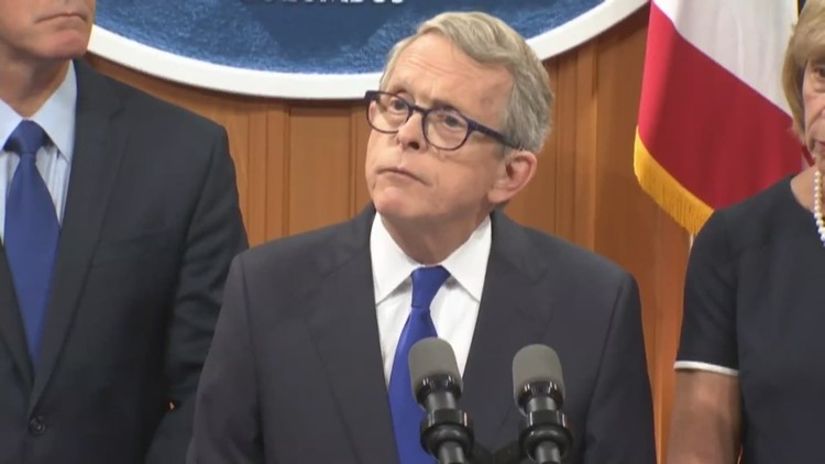 DeWine calls for stricter background checks for gun sales, funding to treat mental health issues