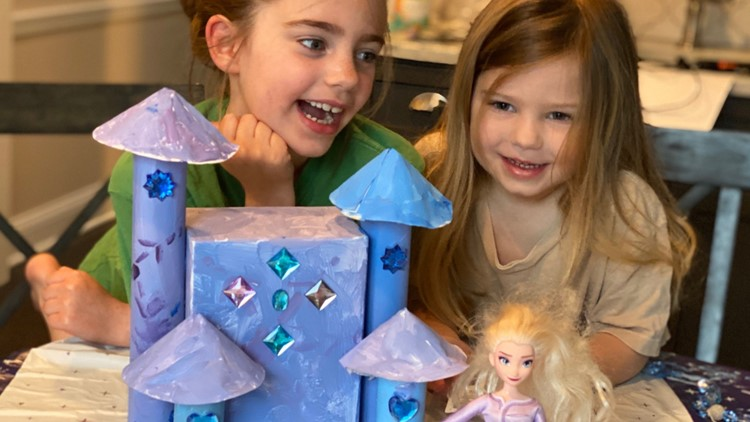 Family Focus: Make a castle out of all those empty toilet paper rolls