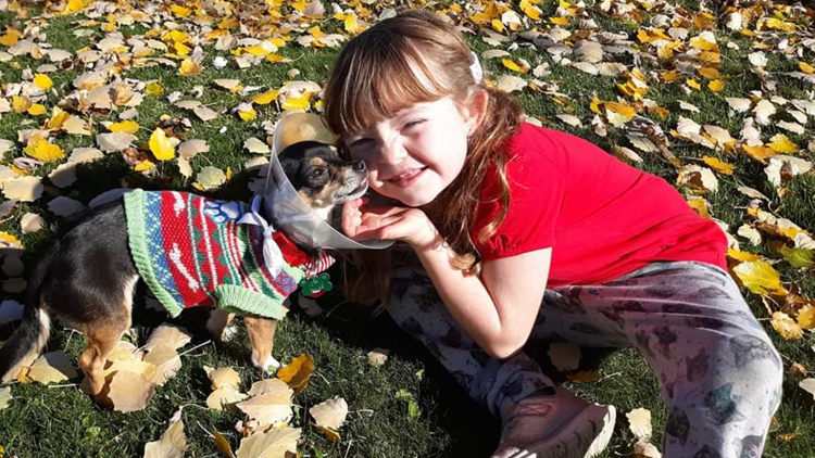 Who rescued who? 9-year-old Ohio girl rescues dog, makes friend for life