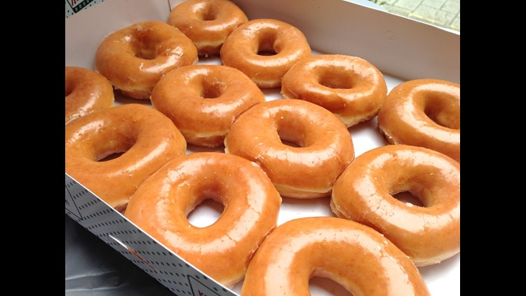 Donut miss this deal! Krispy Kreme offers one dozen glazed donuts for $1 for Labor Day weekend