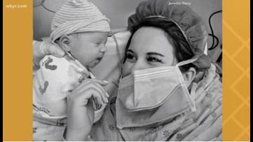 Ohio mom gives birth alone after experiencing COVID-19 symptoms
