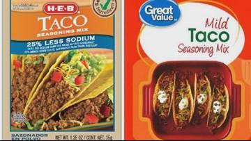 Taco seasoning sold at Walmart recalled over possible salmonella contamination