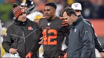 AP Source: Cleveland Browns S Morgan Burnett has torn Achilles, season over