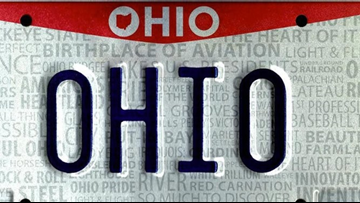 Ohio lawmakers urged to reinstate front license plate requirement