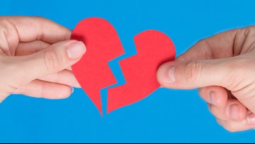 Ohioans Google search break-ups more than anything on Valentine's Day