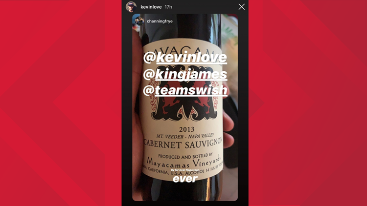 Kevin Love shares his love for Mayacamas wine.