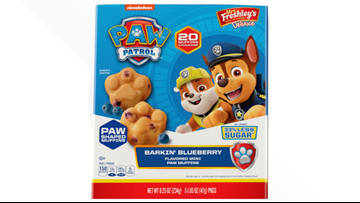 Mrs. Freshley's pulls 'Paw Patrol' mini muffins from store shelves amid complaints