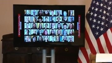 'Social distance-sing' Mike DeWine shares virtual performance from Malone University Chorale