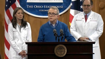 Gov. Mike DeWine, Ohio health officials, hold briefing on the state's response to coronavirus