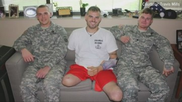 Saluting true heroes: Quadruple amputee helps injured vets live by his motto of 'Never give up. Never quit.'