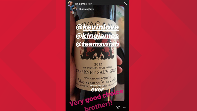 Lebron James shares his love for Mayacamas wine.