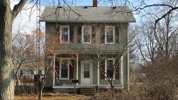 Home where Harley Dilly was recovered in Port Clinton 507 Fulton Street