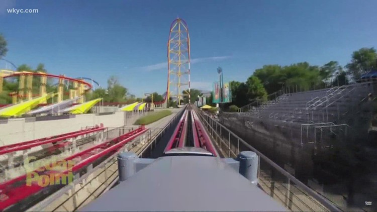 VIDEO   Bodycam footage shows moments after 'small metal object' fell on guest near Cedar Point's Top Thrill Dragster