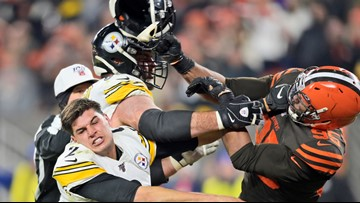 Social media reacts to Myles Garrett-Mason Rudolph fight in Browns-Steelers game
