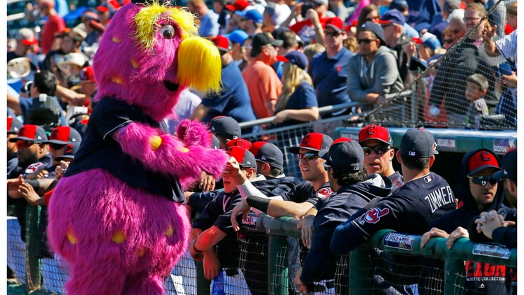 Slider is staying as mascot as Cleveland Indians change name to Cleveland Guardians