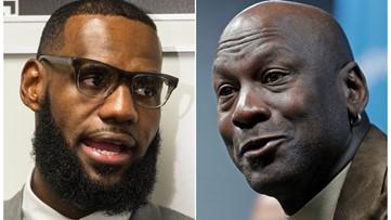 Michael Jordan vs. LeBron James: ESPN poll shows who fans think is better