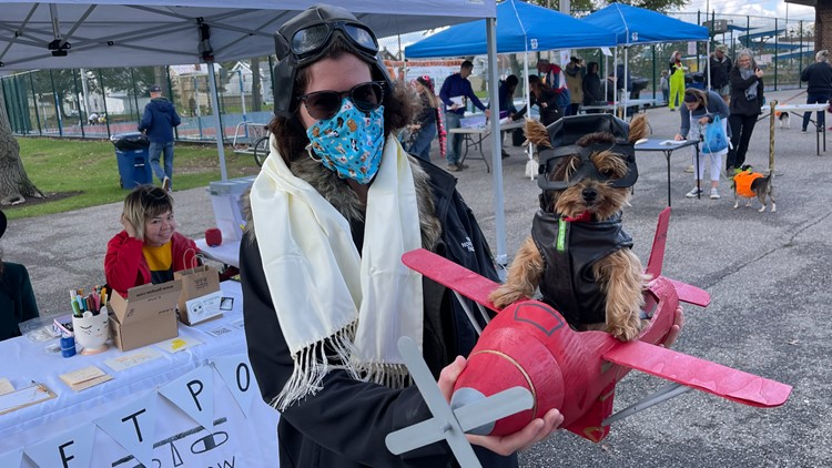 LOOK: Pups sport adorable costumes at NE Ohio's 14th annual Spooky Pooch Parade!