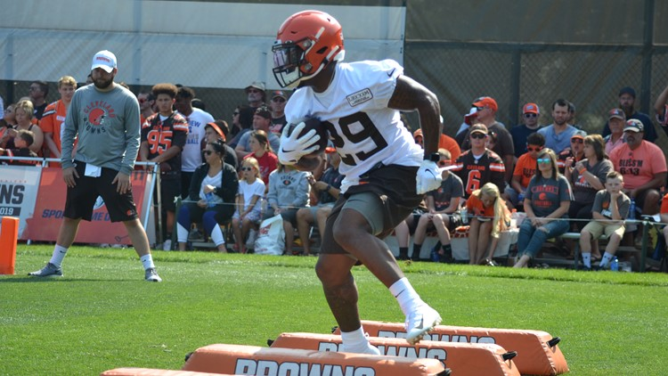 Cleveland Browns RB Duke Johnson Jr.