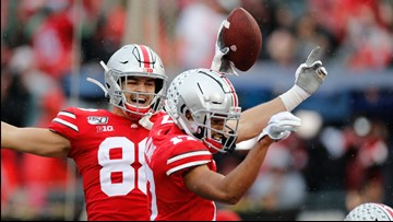 Ohio State at No. 2 in second College Football Playoff poll