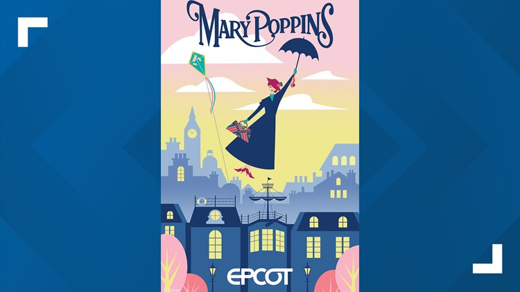 Mary Poppins Attraction at Epcot Disney World