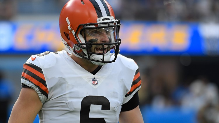 'Just forward the fine letter': Baker Mayfield rips officials following Cleveland Browns' loss to Los Angeles Chargers