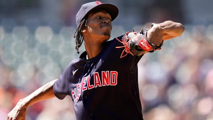 Triston McKenzie comes close to giving Cleveland Indians first perfect game since 1981; Tribe wins 11-0