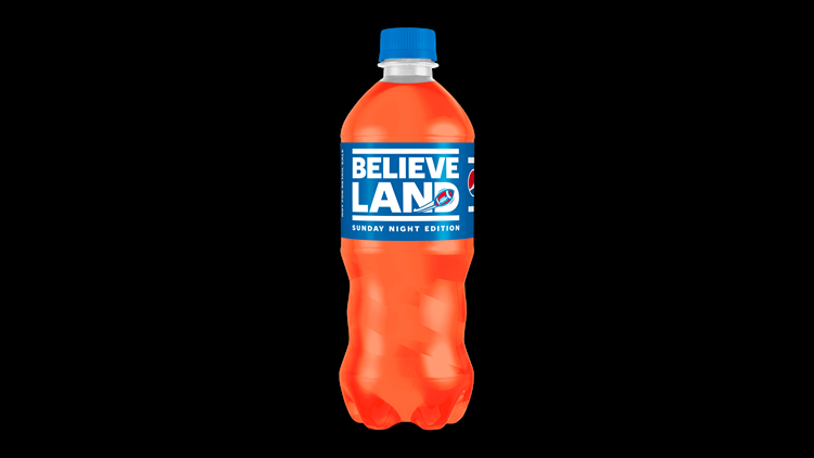 Pepsi releasing limited orange 'Believeland' bottles for Browns-Rams Sunday Night Football matchup