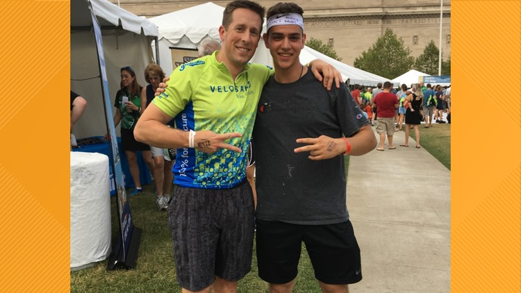 After Navy dreams cut short by cancer, Cleveland man raises money for VeloSano