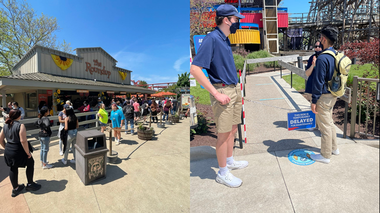 Cedar Point parkgoers experiencing long lines, closed rides and understaffed areas during opening weekend