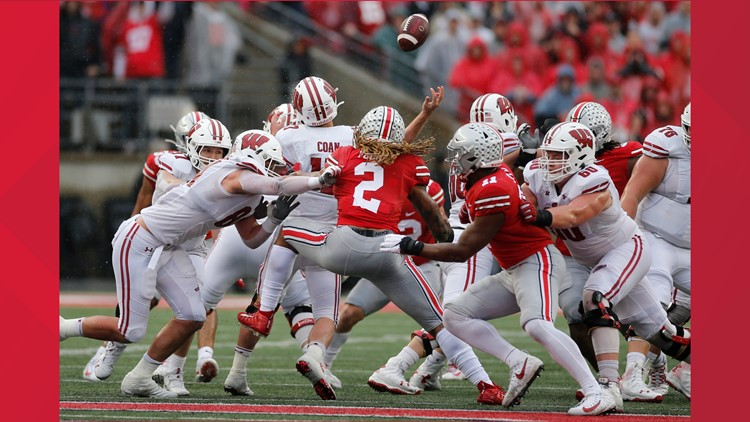 Chase Young Wisconsin Ohio St Football