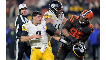 Report: Steelers bench Mason Rudolph; Devlin Hodges to start against Browns